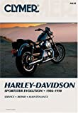img - for Harley-Davidson: Sportster Evolution, 1986-1990 (Clymer Motorcycle Repair Series) book / textbook / text book