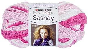 Red Heart E782.1953 Boutique Sashay Yarn, Tutu