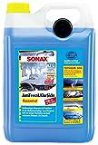SONAX AntiFrost&KlarSicht Konzentrat (5 Liter) ergibt bis zu 15 Liter Winter-Scheibenwaschwasser, sofort mischbereit, schlierenfrei, Antikalk-Effekt   Art-Nr. 03325050