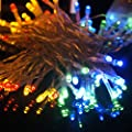 AndkYwd Blue 30 LED String Lights Battery Operated for Christmas Wedding Birthday Party