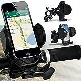 ( Black ) Motorola MILESTONE 2 Bicycle Bike Mount Holder Support Stand Cradle Handlebar Support 360 Degree Rotation by Fone-Case