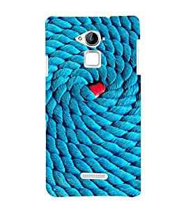 printtech Thread Pattern Back Case Cover for Coolpad Note 3 Lite
