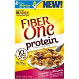 Fiber One Protein Cereal, Cranberry Almond, 15.8 Ounce (Pack Of 3)
