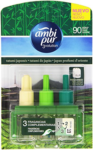 Ambi Pur - 3volution, Fragranza per diffusore regolabile, Japan Profumi d' Oriente, Ricarica - 21 ml