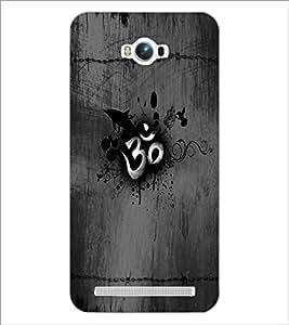 PrintDhaba Om D-5593 Back Case Cover for ASUS ZENFONE MAX ZC550KL (2016) (Multi-Coloured)