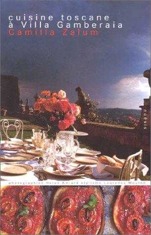 Cuisine toscane à la villa Gamberaia