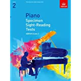Piano Specimen Sight-Reading Tests, Grade 2 (ABRSM Sight-reading)by ABRSM