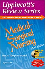 Lippincott s Review Series Medical Surgical Nursing by Ray A. Hargrove-Huttel RN PhD
