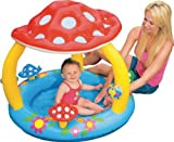 INTEX Baby Kinder Pool Planschbecken Kinderpool mit Pilz Dach Babypool