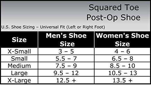 Post Op Shoe Size Chart