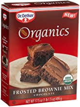 Dr Oetker Organics Brownie Mix Frosted Chocolate 175-Ounce Boxes Pack of 8
