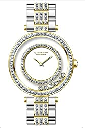 Giordano Analog White Dial Womens Watch - P292-44