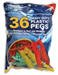 Spic and Span Heavy Duty Plastic Pegs...