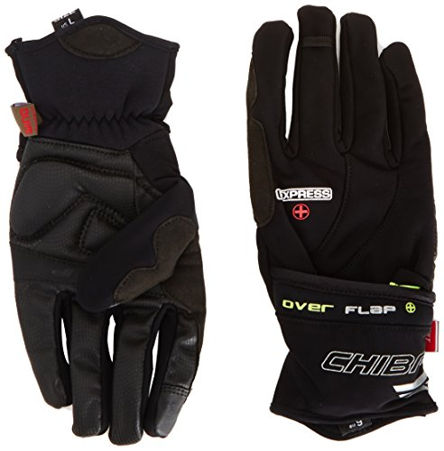 Red Chiba Rain Pro Waterproof Cycling Gloves