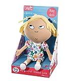 Charlie and Lola 28cm x 17cm x 13cm My Best Friend Lola Rag Doll