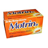 Motrin IB (Ibuprofen) Pain Reliever - 300 Coated Tablets