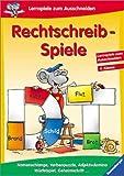 Rechtschreib-Spiele, 4 - Klasse, neue Rechtschreibung - Stefan Lohr