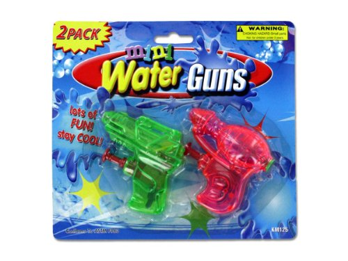 Mini Water Guns - Case Of 144 front-1031431