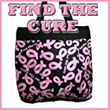 Pink Ribbon Breast Cancer Awareness Find the Cure Tote Handbag Purse