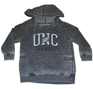 North Carolina Tar Heels Gear for Sports Women Dark Gray Hoodie Sweatshirt (M) by Gear for Sports