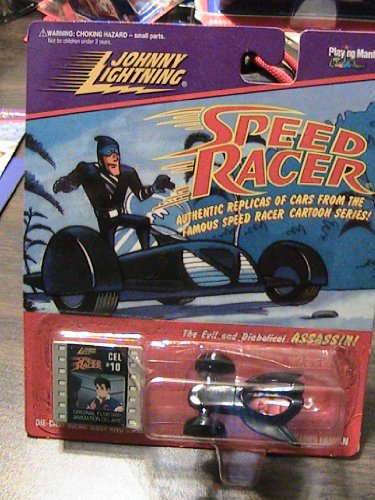 Speed Racer Johnny Lightning - Assassin Diecast - 1
