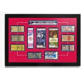 """St. Louis Cardinals 11 Time World Series Champions Tickets to History 18"""" x 24"""" Framed Print"""