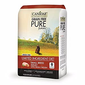 Canidae Grain Free Pure Fields Small Breed Adult Dog Food 12 lbs. Chicken