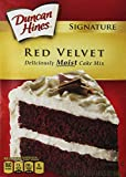 Duncan Hines Signature Red Velvet Cake Mix, 16.5-Ounce Boxes (Pack of 6)