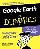 Google Earth For Dummies (0470095288) by Crowder, David A.