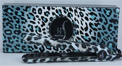 Herstyler Turquoise Leopard Straightening Iron