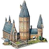 WREBBIT 3D Hogwarts Great Hall 3D Puzzle (850 Piece)