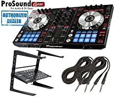 Pioneer DDJ Series DDJ-SR Digital Performance DJ Controller + Laptop Stand + FREE Cables