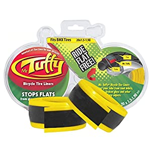 Mr. Tuffy Bicycle Tire Liner (Yellow, 20 X 1.5-1.9)