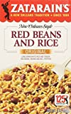 Zatarain's New Orleans Style RED BEANS AND RICE Original 8oz (3 pack)