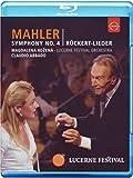 Symphony 4 / Ruckert Lieder [Blu-ray] [Import]