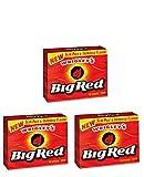 【海外直送】 3個セット ビッグレッド シナモンガム 15枚入り  Wrigley's BigRed 15sticks gum (3pk)