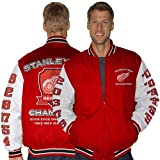 Detroit Red Wings Red Hall Of Fame Commemorative Jacket at Amazon.com