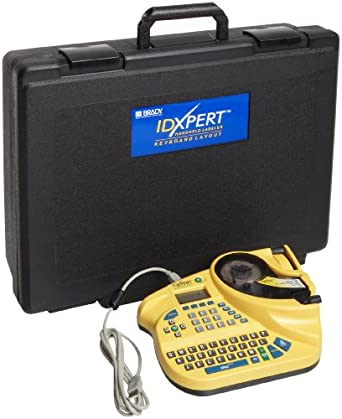 "Brady XPERT-KEY IDXPERT 1.25"" Character Height, Keyboard Layout, LCD v2.0 Handheld Labeler"