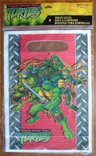 Teenage Mutant Ninja Turtles Favor Bags (8ct)