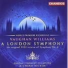 A London Symphony (Symph. N 2) Version Originale De 1913 + George Butterworth