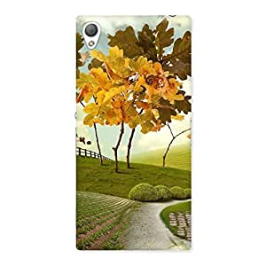Stylish Printed Way Back Case Cover for Sony Xperia Z3
