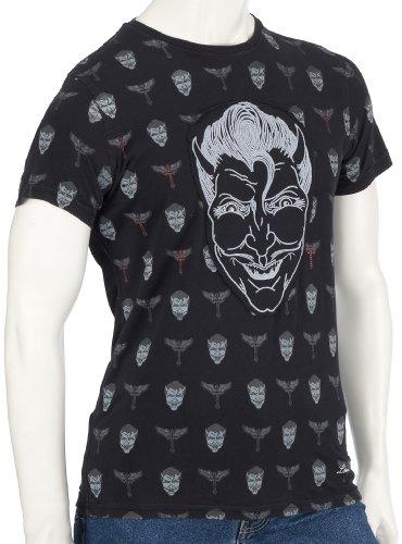Lou Molloy Mens T-Shirt Lou Devils Black Small