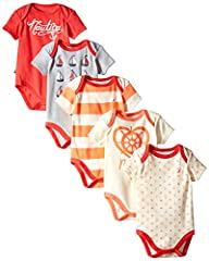 Nautica Baby-Girls Newborn 5 Pack Sai…