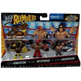Kofi Kingston Rey Mysterio John Morrison Figuren Set WWE Rumblers