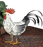 Regal Art & Gift White Rooster Decor, Medium