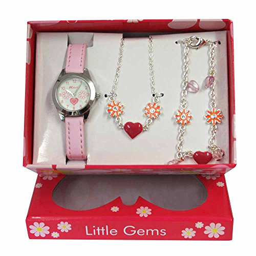 ravel-childrens-jewellery-set-little-gems-hearts-and-flower-watch-charm-bracelet-hearts-and-flowers-