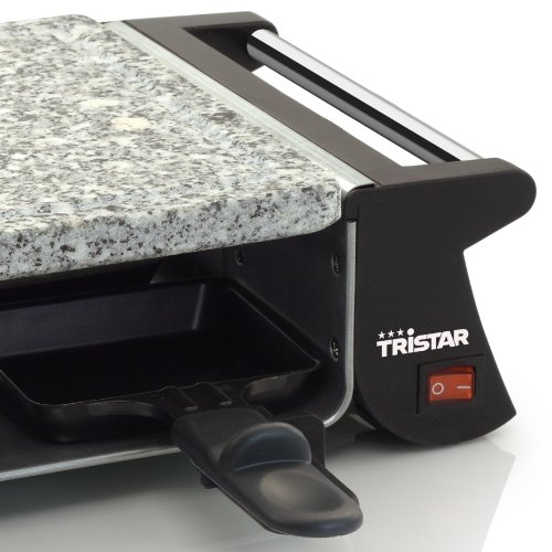 tristar ra 2990 appareil raclette 4 personnes 500 w. Black Bedroom Furniture Sets. Home Design Ideas