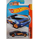 HOT WHEELS 2015 SERIES HW RACE 2013 COPO CAMARO 127/250, BLUE.