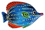 Ceramic Butterfly Fish Wall Hanger (Blue) - Hand Painted From Spain