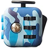 Oliasports Fidget Cube Relieves Stress And Anxiety For Children And Adults Anxiety Attention Toy (Cadet Blue)
